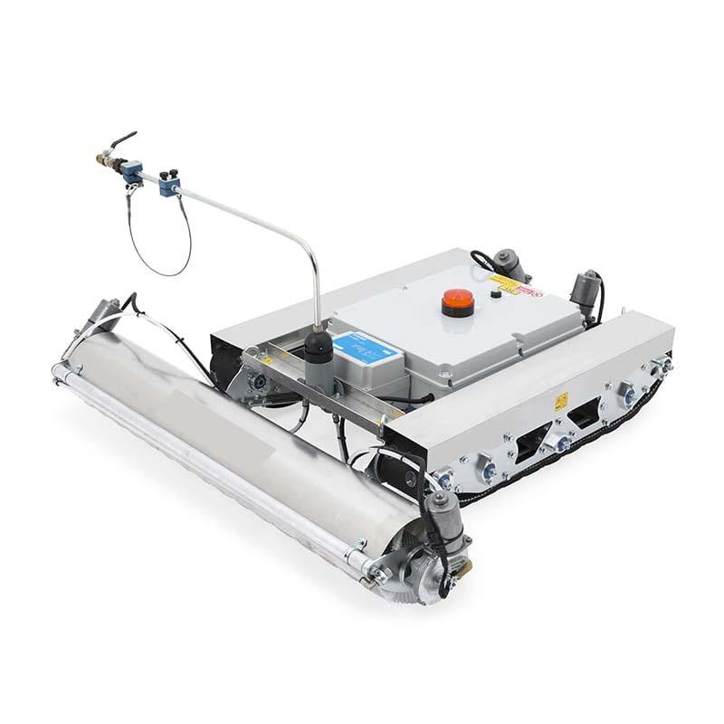 Robot vệ sinh pin mặt trời